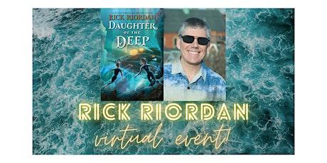 Rick Riordan Event tickets