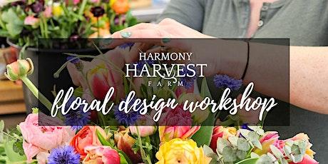 Open Farm Floral Design Workshop tickets
