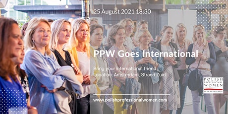 PPW Goes International - Bring your international friend tickets
