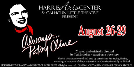 """Always...Patsy Cline"" tickets"