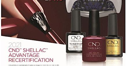 CND DIGITAL SHELLAC ADVANTAGE RECERTIFICATION tickets