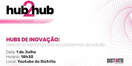 #5 Hubs de Inovação | Gestão e liderança dos ecossistemas de saúde ingressos