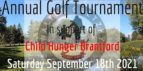 Child Hunger Brantford Annual Golf Tournament tickets
