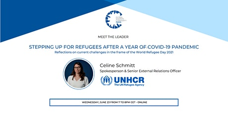Stepping Up For Refugees After A Year of Covid-19 Pandemic tickets
