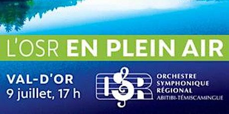 Hydro-Québec présente Val-d'Or en concerts : L'OSR en plein air billets