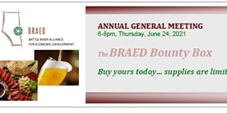 BRAED Annual General Meeting 2021 tickets