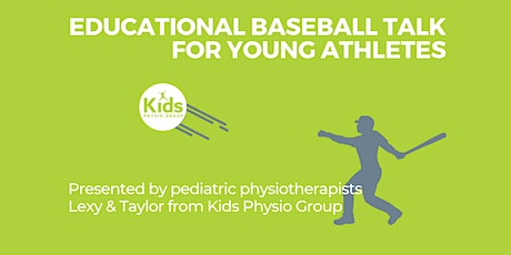 Educational Baseball Talk for Young Athletes tickets