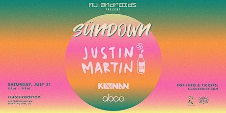 Sündown: Justin Martin (21+) tickets