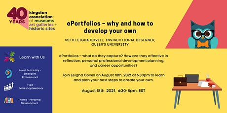ePortfolios – why and how to develop your own tickets