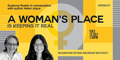 A Woman's Place is keeping it real tickets