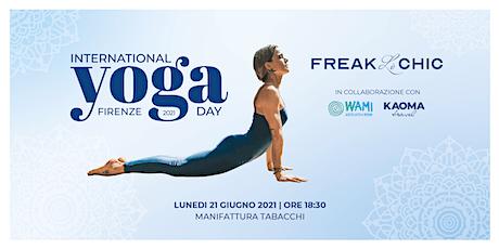 International Yoga Day Firenze 2021 by FreakLèChic biglietti