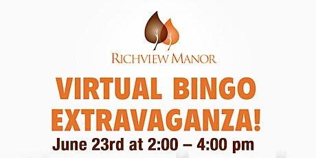 Virtual Bingo Extravaganza tickets