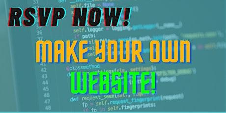 Web Development Middle School Workshop tickets