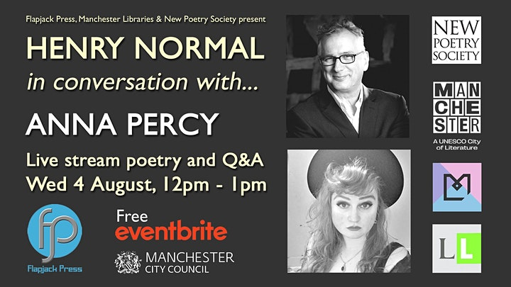 Henry Normal in conversation with… Anna Percy image