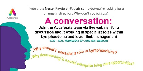 A conversation: working in specialist roles tickets