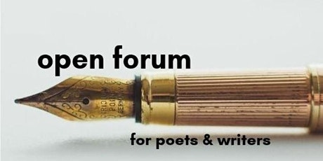 Open Forum Prose and Poetry Workshop ~ North Florida Poetry Hub tickets