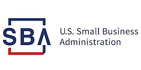 Plan de negocio y recursos asociados de la SBA tickets