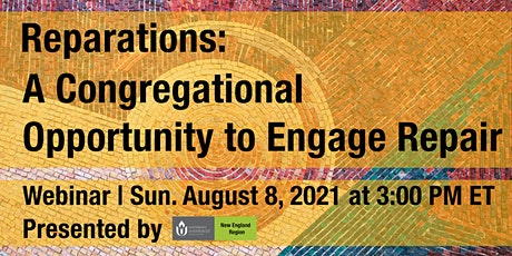 Reparations: A Congregational Opportunity to Engage Repair tickets