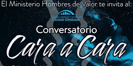 """Conversatorio: """" Cara a Cara"""" tickets"""