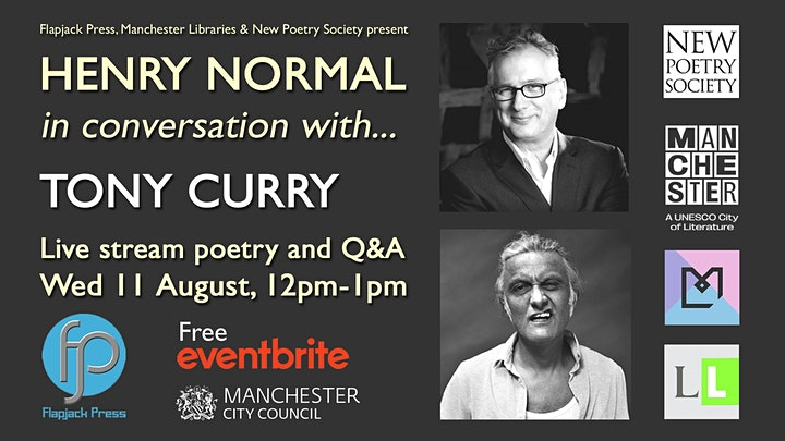 Henry Normal in conversation with... Tony Curry image