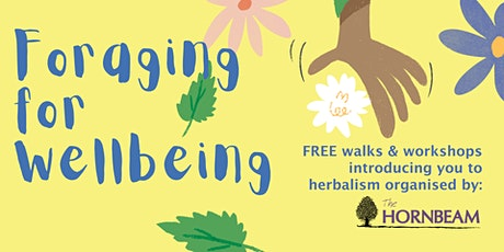 Foraging for Wellbeing - Leyton tickets