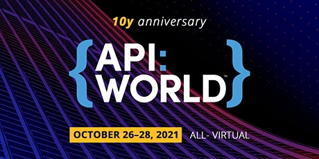 API World 2021 tickets