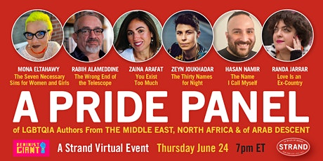 Feminist Giant & The Strand Present: A Pride Panel of LGBTQIA authors tickets