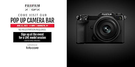 Fujifilm X/GFX Pop Up Live Event tickets