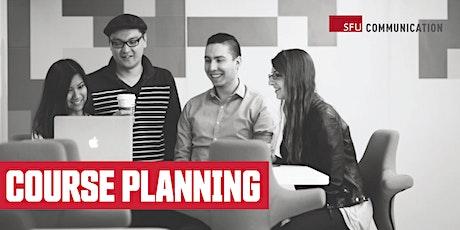 SFU School of Communication Course Planning Workshop tickets