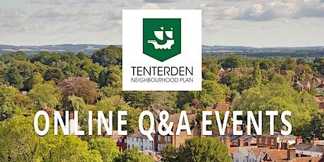 Tenterden Neighbourhood Plan - Q & A Online Event tickets