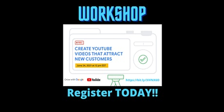 Create YouTube Videos That Attract New Customers tickets