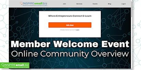 INSPIREsmall.biz Online Community Launch Event tickets