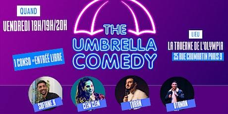 Umbrella Comedy billets