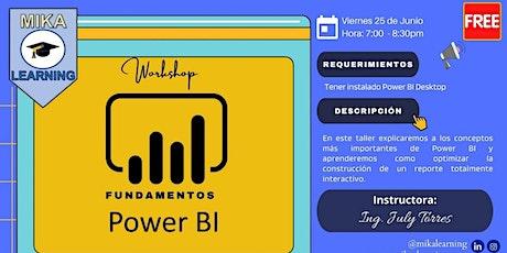 Fundamentos de Power BI ingressos