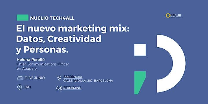 El nuevo marketing mix: Datos, Creatividad y Personas. image