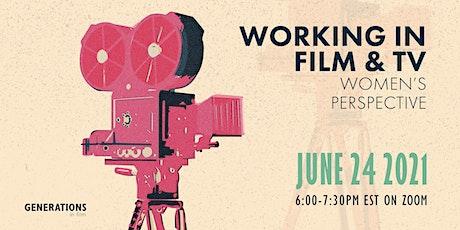 Working in Film & TV: Women's Perspective tickets