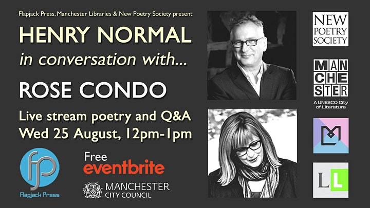 Henry Normal in conversation with... Rose Condo image