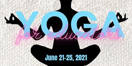 5 Days of Yoga -FOR EDUCATORS- Ypsilanti tickets