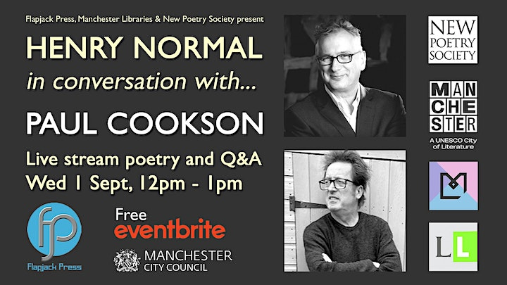 Henry Normal in conversation with... Paul Cookson image