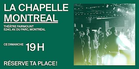 La Chapelle Montréal au Théâtre Fairmount - Réunion 19h tickets
