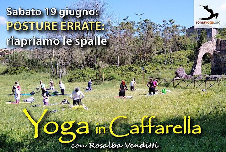 Immagine LEZIONI DI YOGA ALLA CAFFARELLA - ogni sabato ore 9:00-10:00
