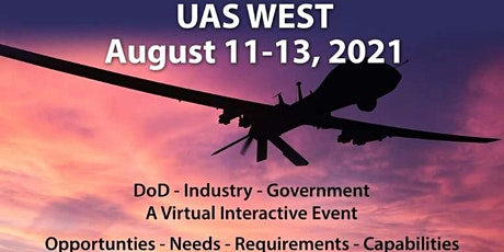 UAS WEST (Unmanned Aircraft-DoD-Government-Industry) tickets