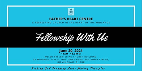 Father's Heart Centre's Sunday Service tickets