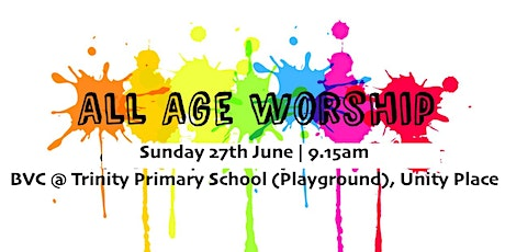 9.15am All Age Worship Service (27.06.21) tickets