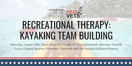 Military Women Kayaking Team Building | Women Veteran Strong & Next4Vets tickets
