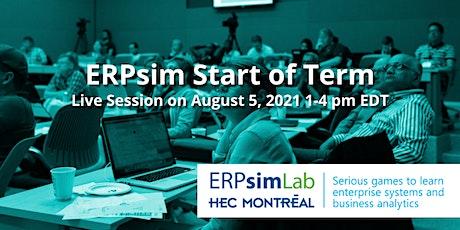 ERPsim Start of Term Webinar tickets