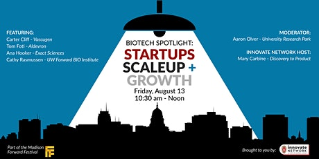 Biotech Spotlight: Startups, Scaleup and Growth tickets