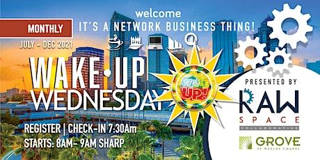 WAKE-UP WEDNESDAYS tickets