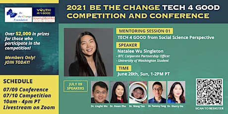 TECH 4 GOOD Mentoring Session 1 tickets