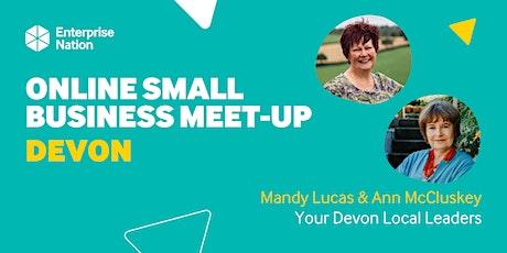 Online small business meet-up: Devon tickets